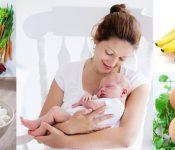 Chế độ dinh dưỡng cho phụ nữ đang nuôi con bú