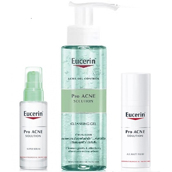 bo san pham tri mun eucerin pro acne