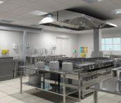 Thiết bị bếp ăn công nghiệp tương ứng với từng khu chức năng