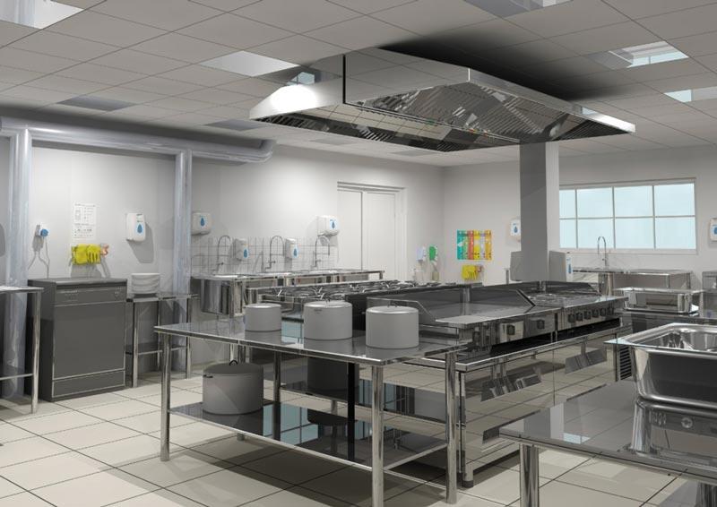 thiết bị bếp ăn công nghiệp