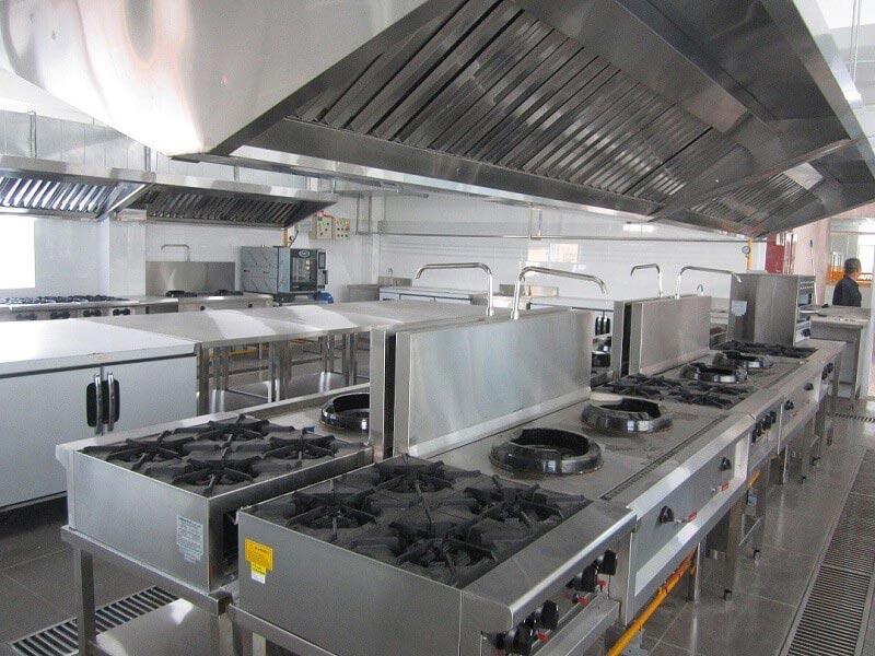 bếp Á Âu công nghiệp