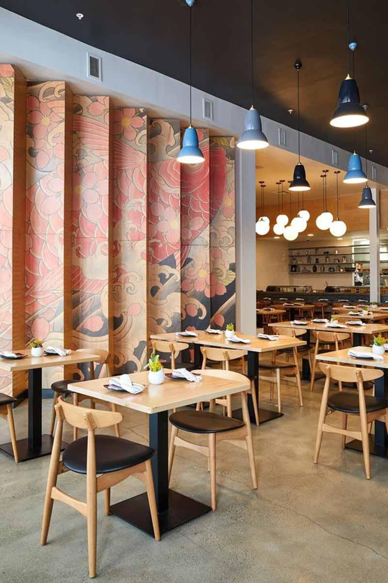 thiết kế nội thất nhà hàng