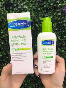 Kem dưỡng ẩm cho da hỗn hợp với khả năng chống nắng dịu nhẹ – SPF15/PA ++