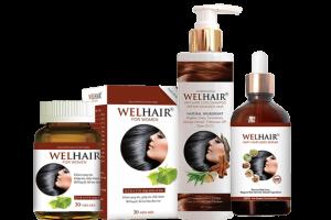 Bộ sản phẩm chăm sóc tóc Welhair