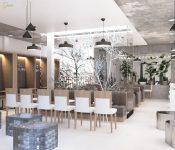 Gợi ý các kiểu đèn trang trí quán cafe hợp phong cách