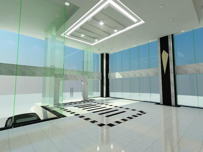 Kính chịu lực có độ bền cao, được sử dụng nhiều trong kết cấu các toà nhà cao tầng