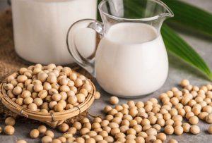Đậu nành là một loại hạt quá quen thuộc với người ăn chay và nó giúp cung cấp canxi
