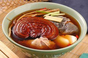 Những món ăn bồi bổ từ nấm linh chi